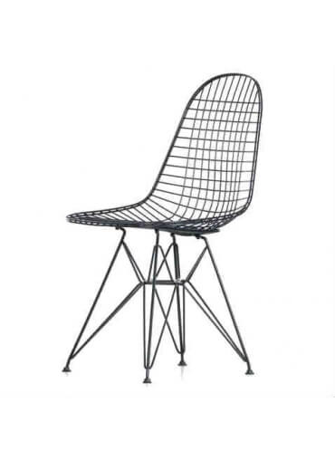 Black Eames Style Wire chair for hire