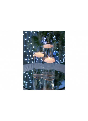 Three Pieces Candle Centrepiece