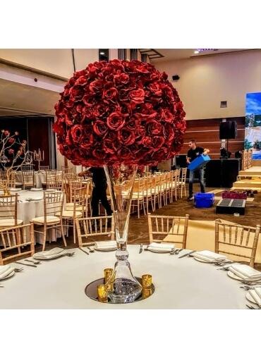 70cm Flowerball Hire