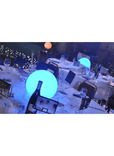 LED Sphere Centrepieces 50cm