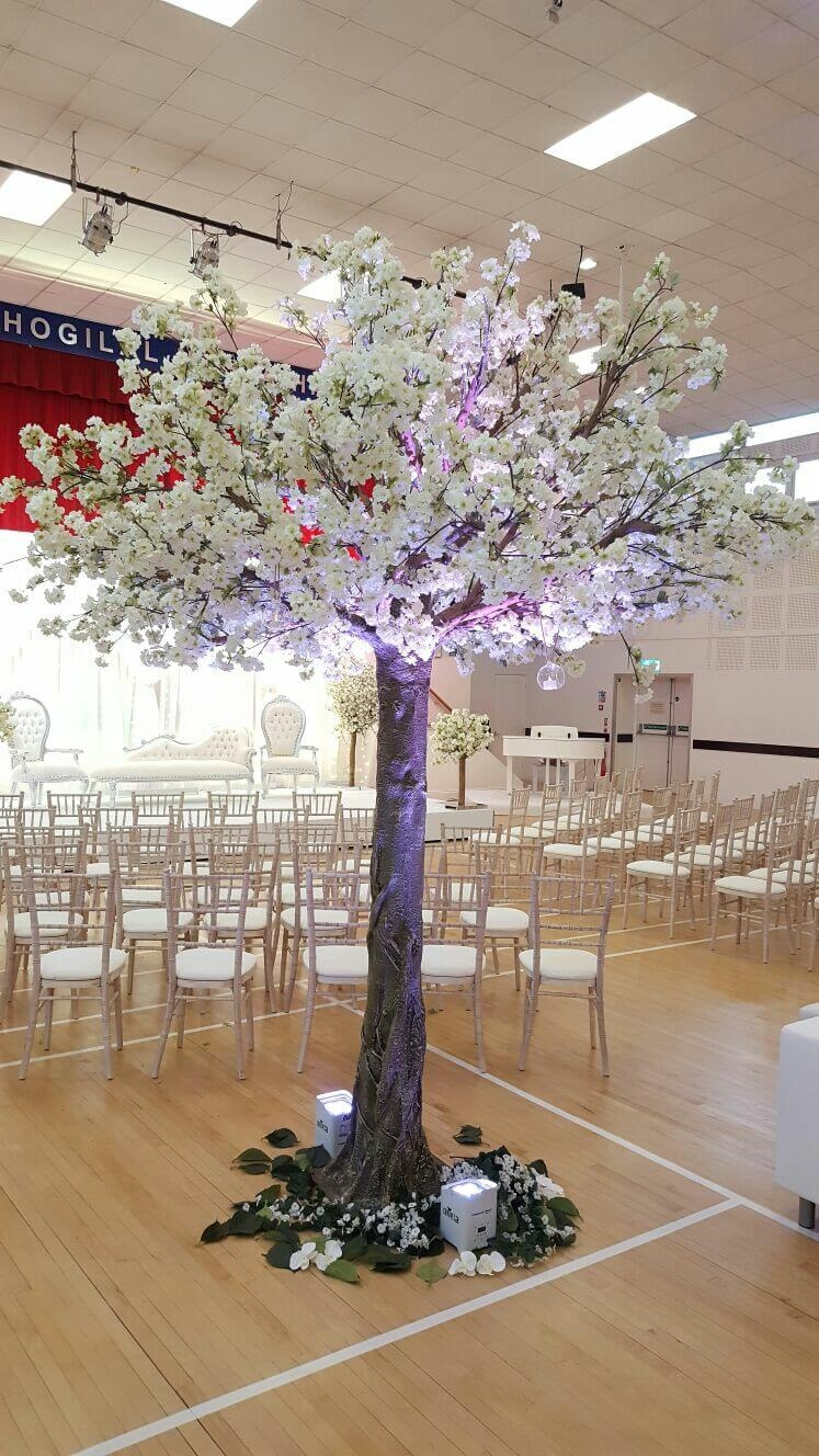 wedding tree hire