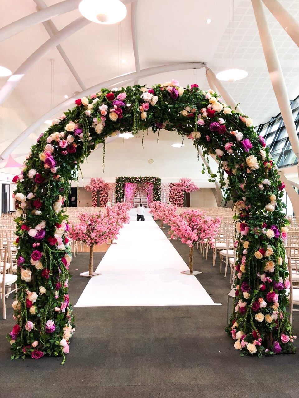 Floral Archway
